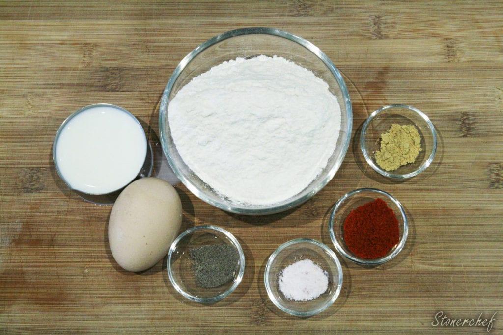 składniki na ciasto naleśnikowe