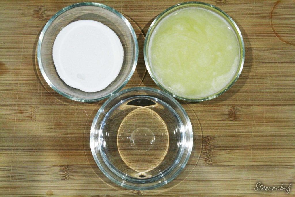 składniki na klasyczną lemoniadę