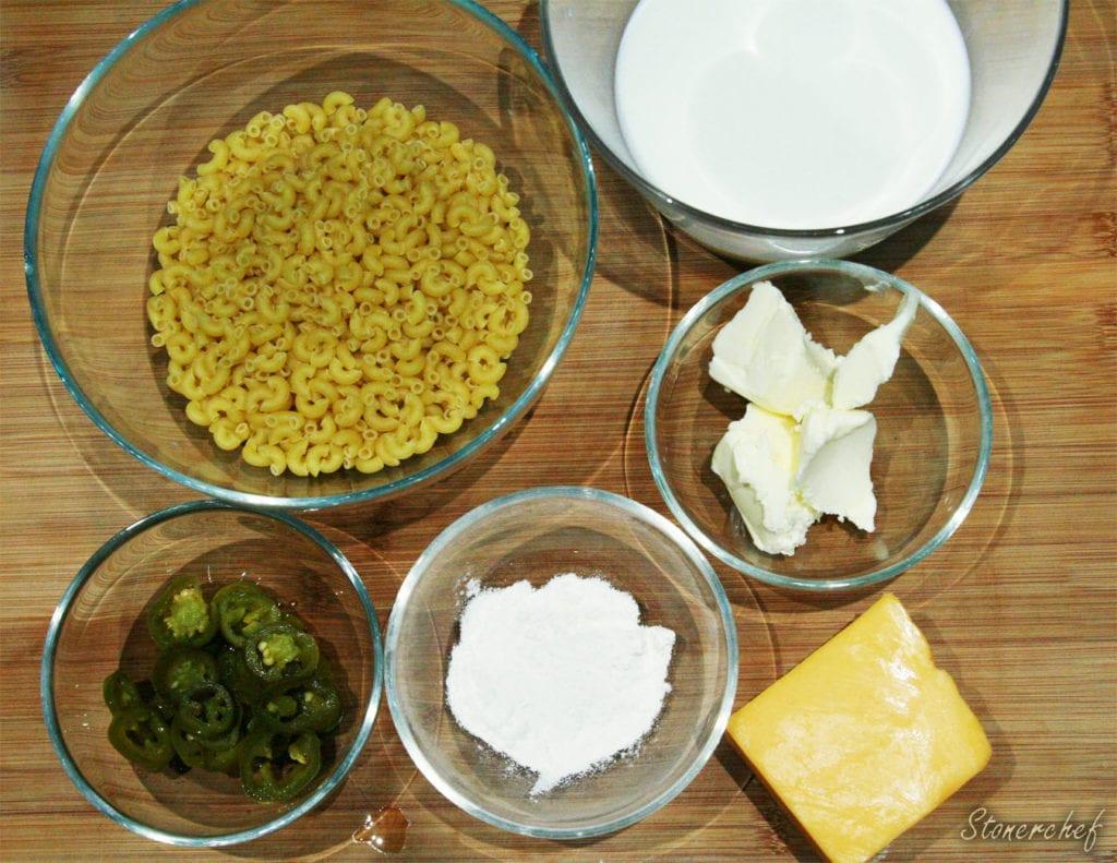 składniki na mac and cheese