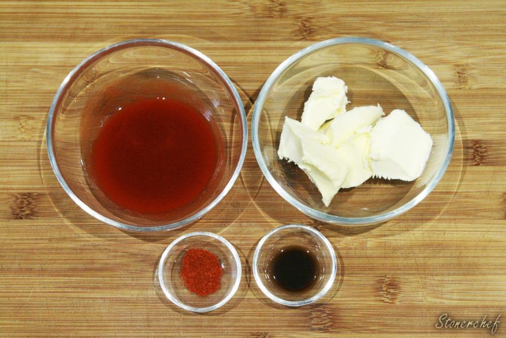 składniki na sos buffalo