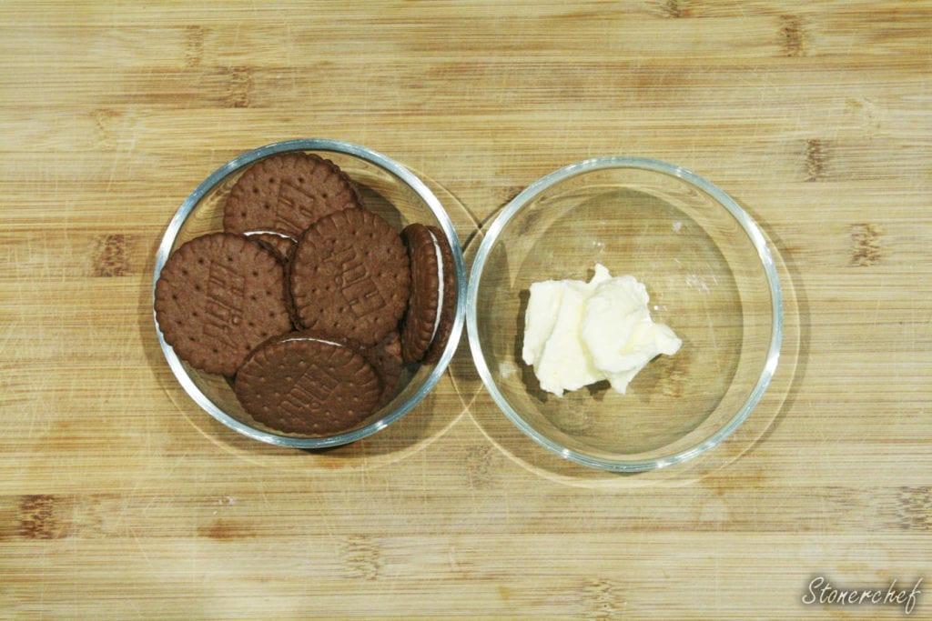 składniki na spód do sernika toblerone