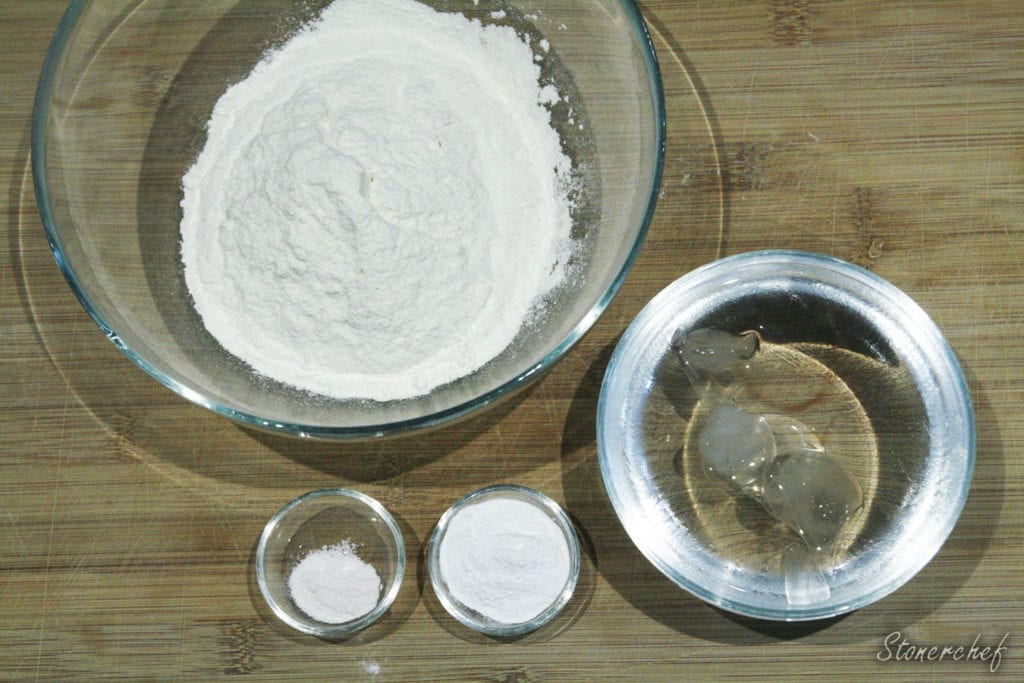 składniki na tempurę