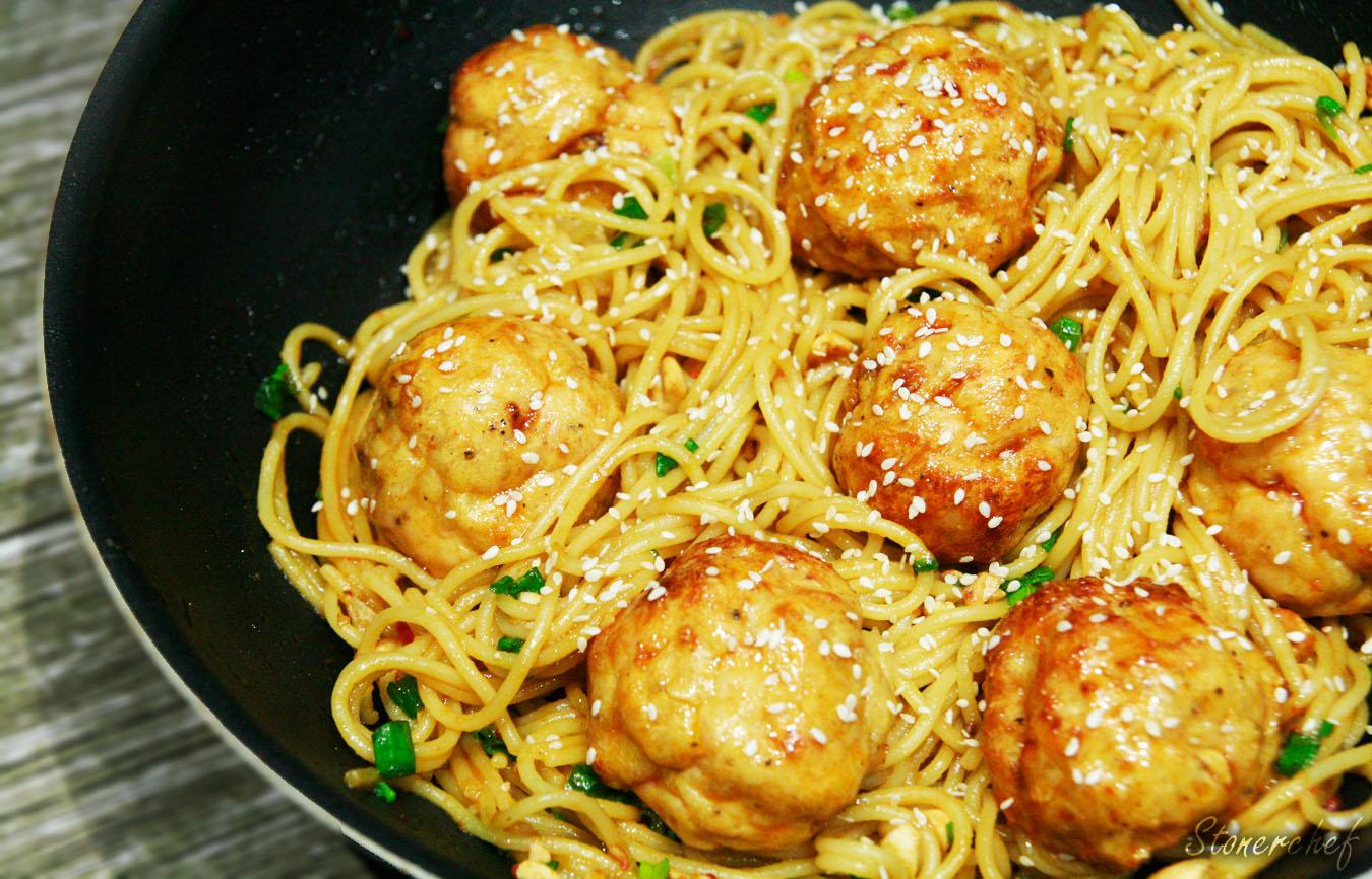 spaghetti kung pao