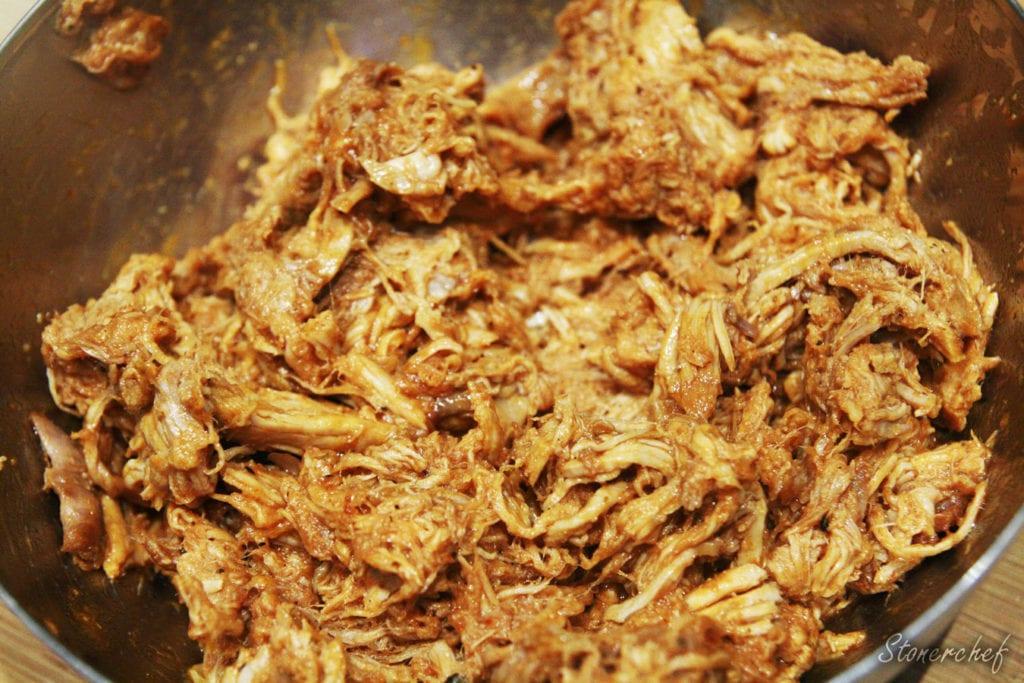 szarpana wieprzowina z piekarnika