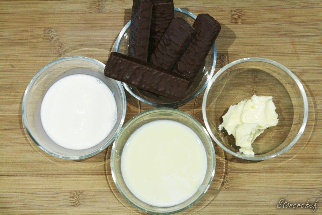 składniki na krem pierrot