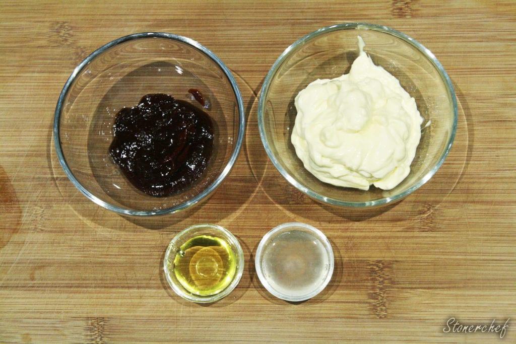 składniki na majonez chipotle