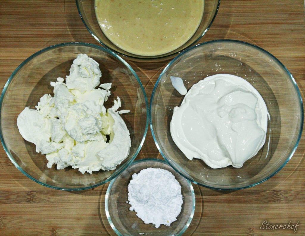 składniki na michałkową masę sernikową