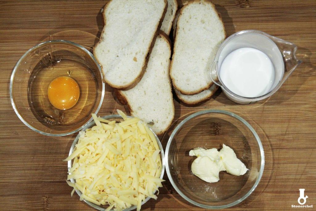 składniki na tosty francuskie