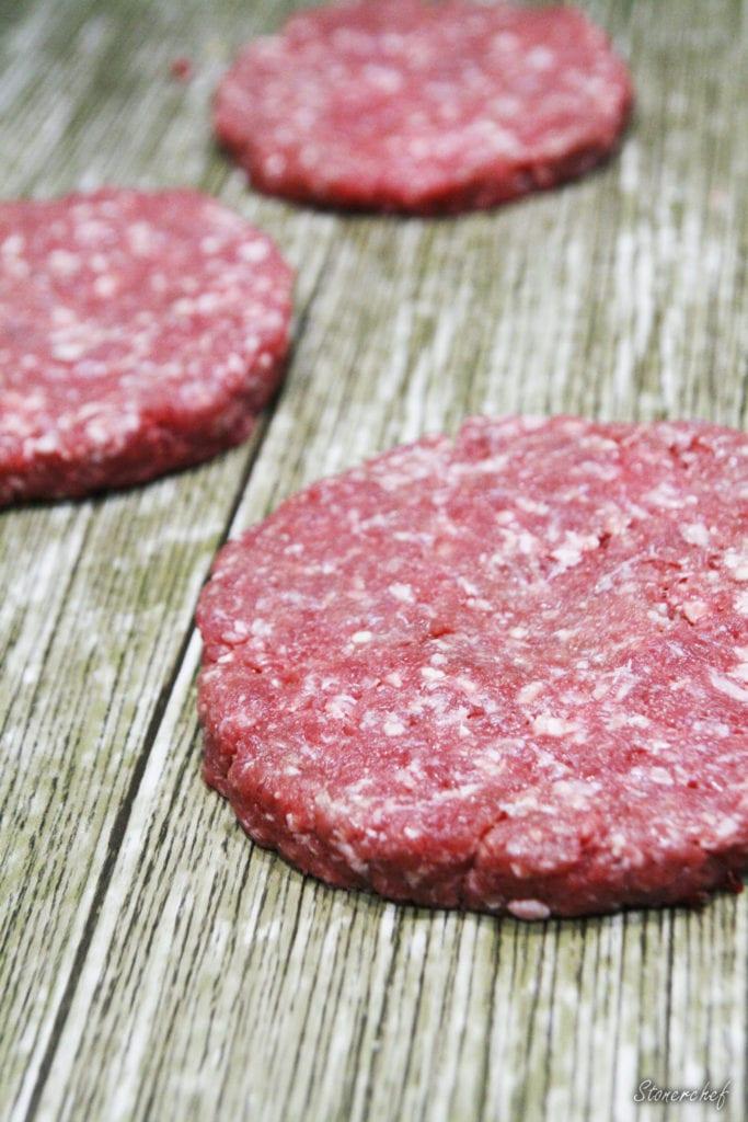 wyrobione burgery wołowe