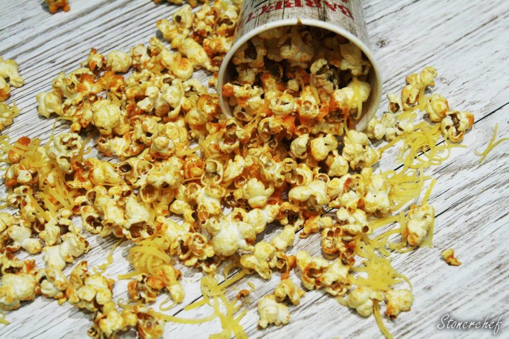 popcorn sriracha