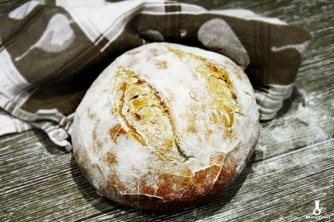 pszenny chleb drożdżowy
