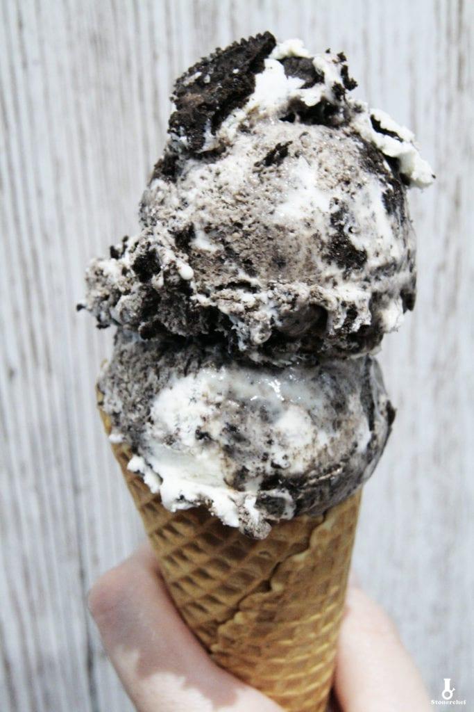 ciasteczkowe lody oreo