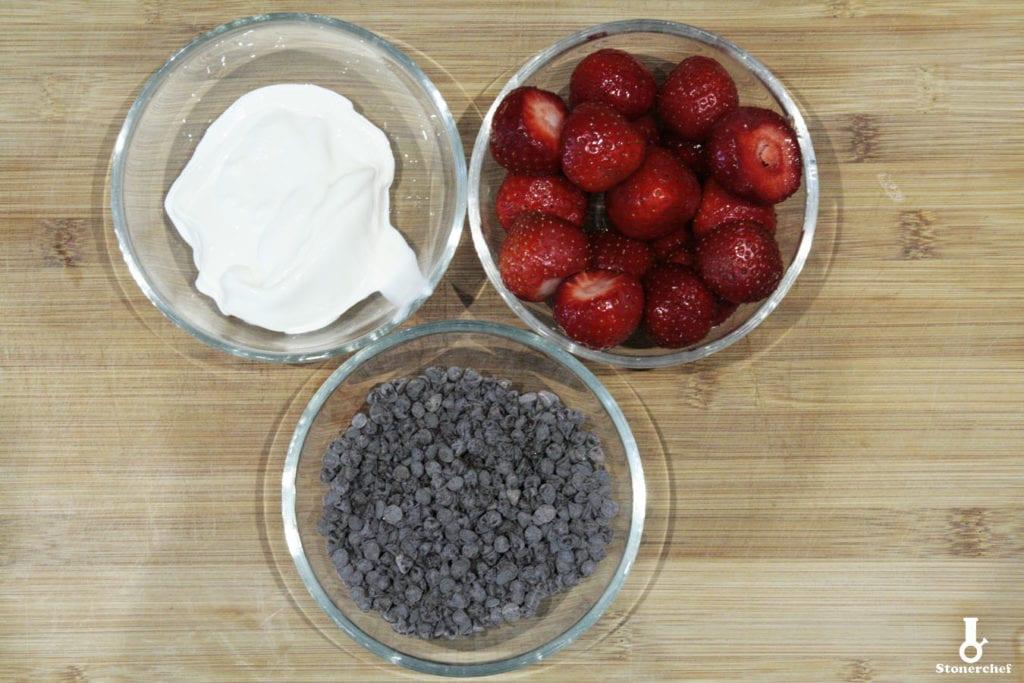 składniki na warstwę między spodem a masą