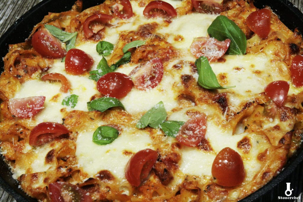 pomidorowa zapiekanka makaronowa