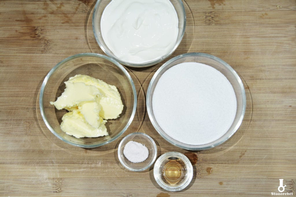 składniki na solony karmel