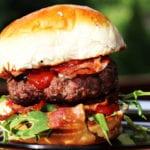 burgery z kozim serem