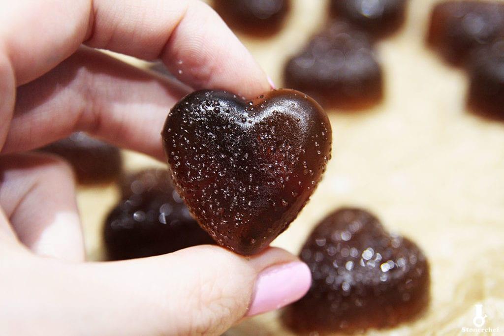 kwaśne żelki o smaku coli cherry