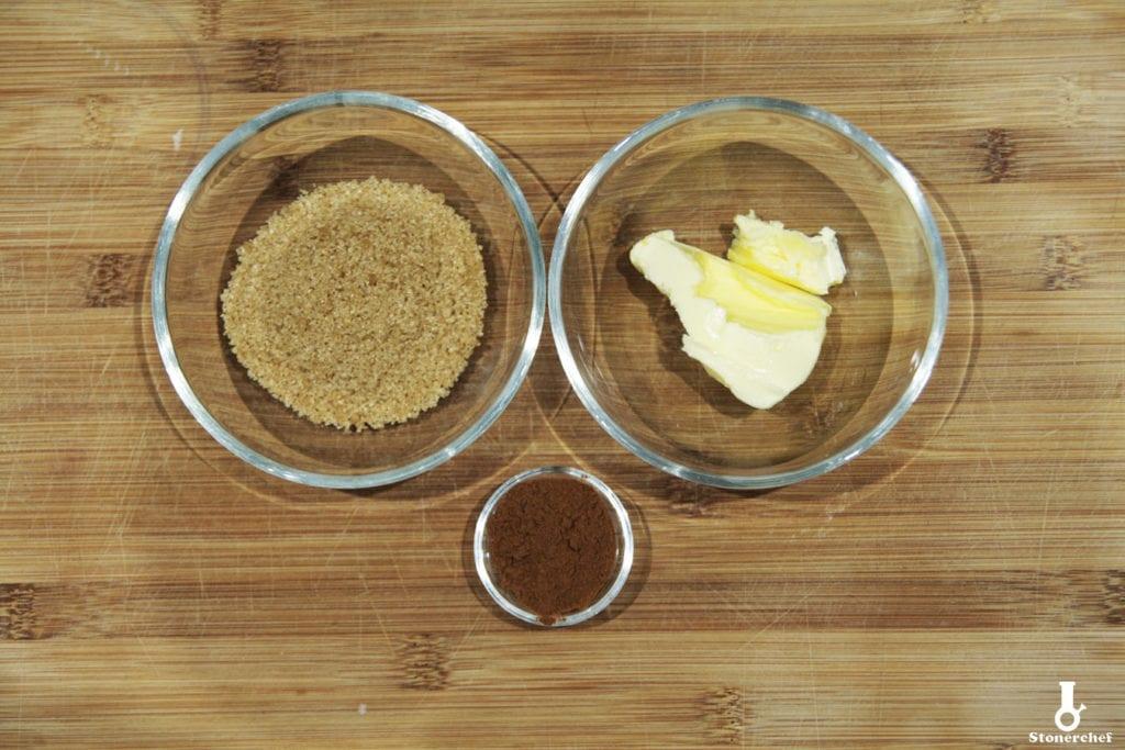 składniki na cukier cynamonowy