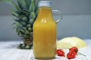 ananasowy sos habanero