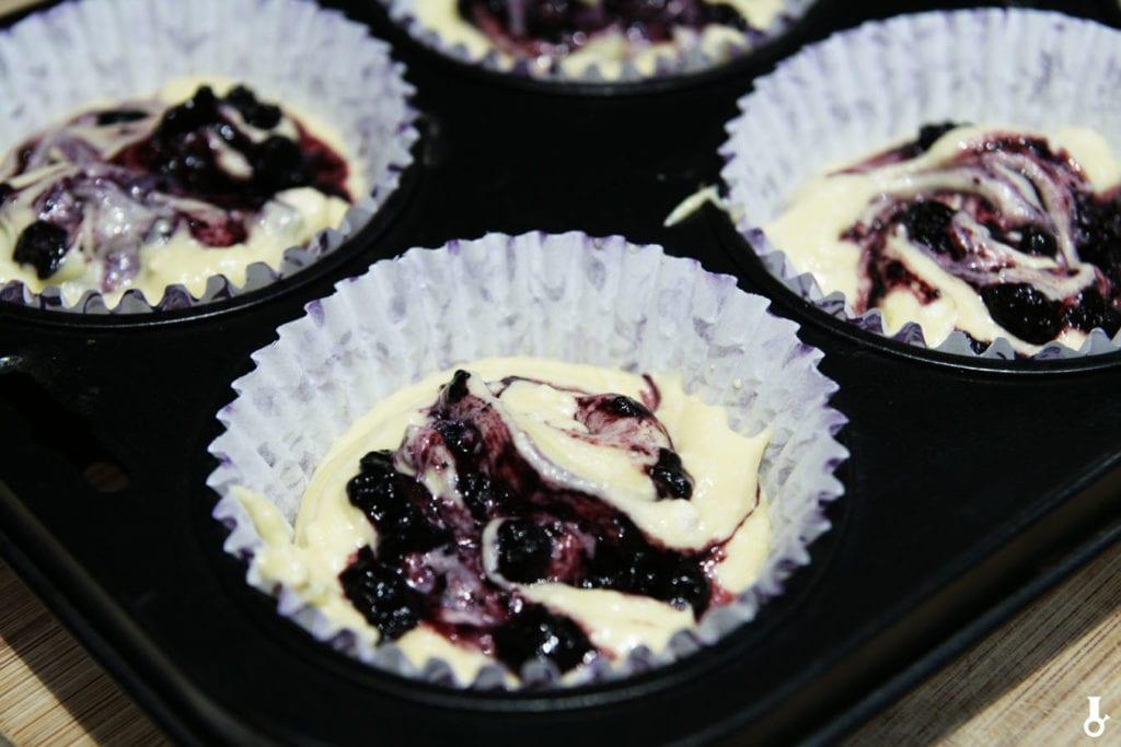 kokilki wypełniane masą na muffiny