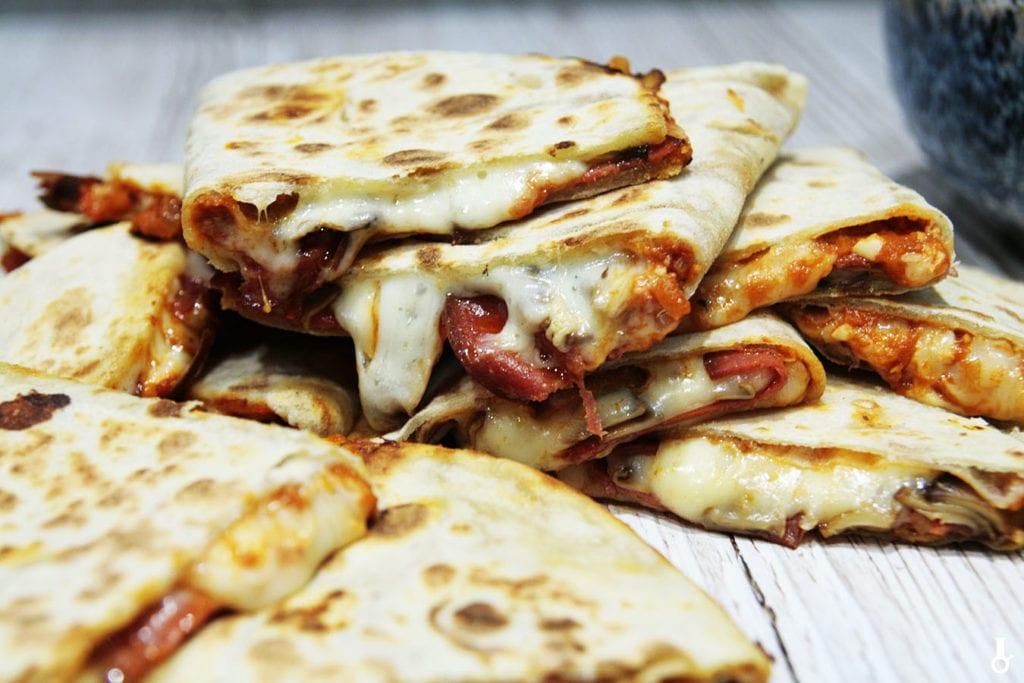 quesadilla o smaku pizzy