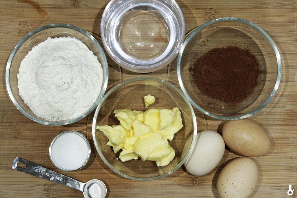 składniki na ciasto na eklerki