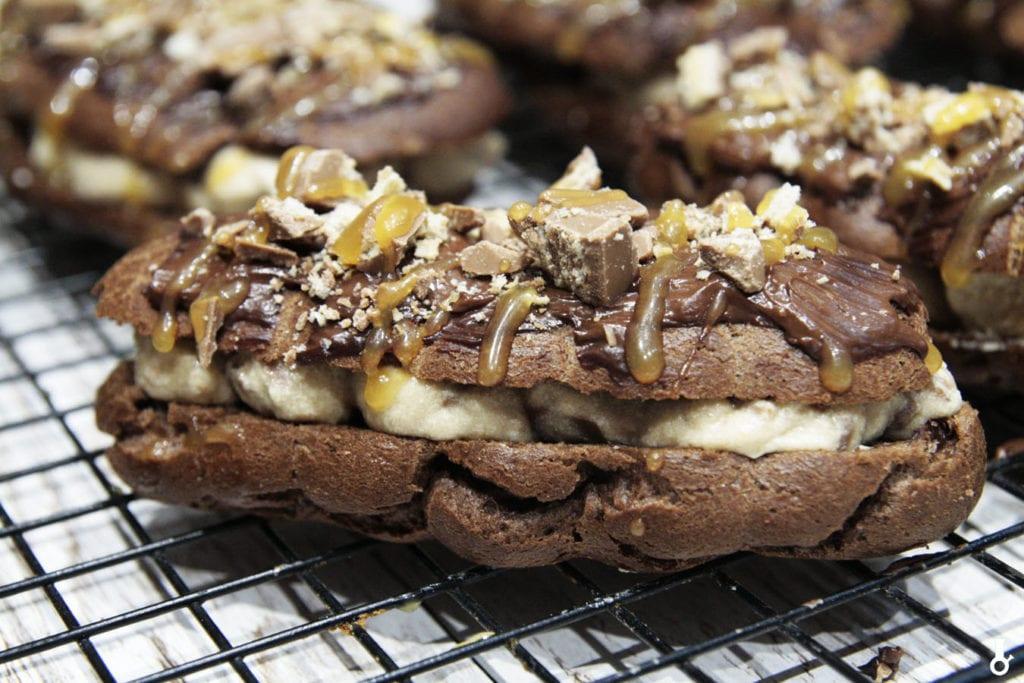 czekoladowe eklerki