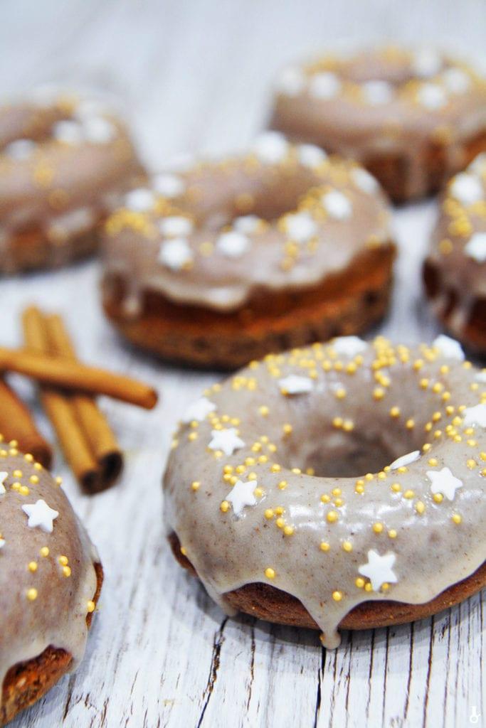 donuty piernikowe