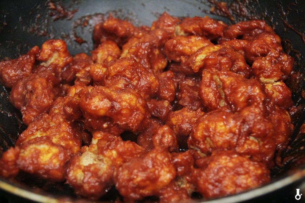 korean fried chicken w sosie
