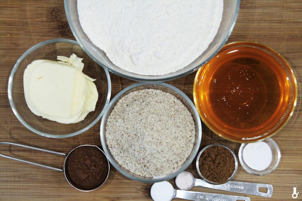 składniki na pierniczki lebkuchen