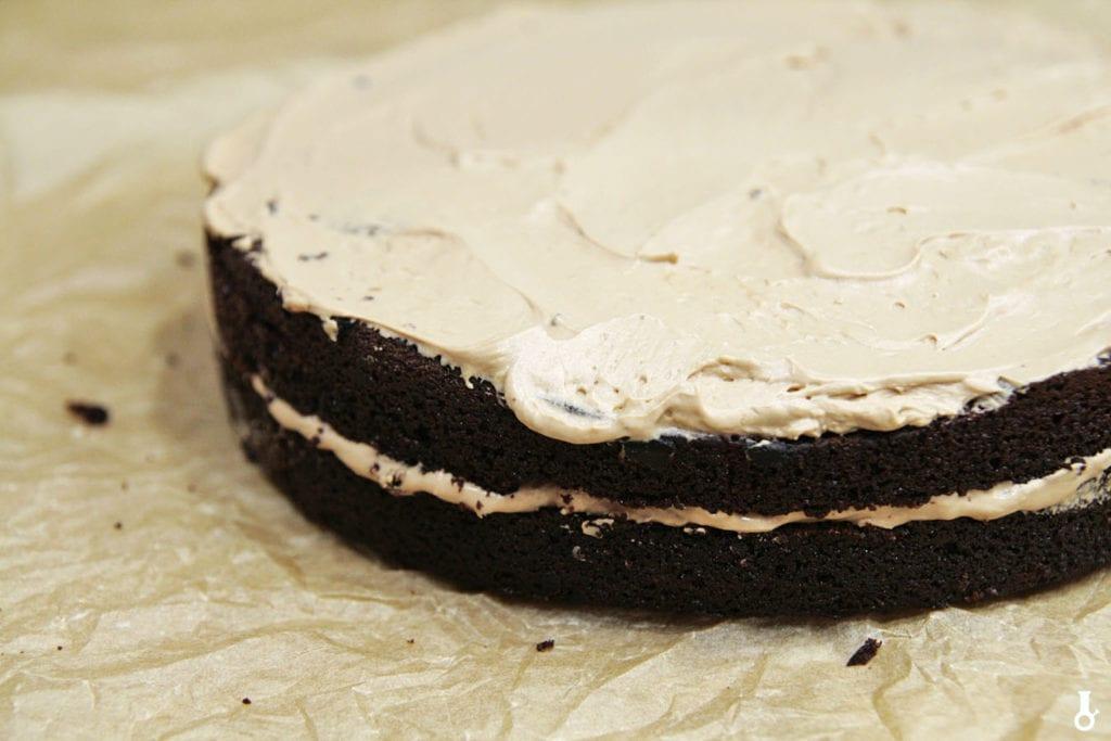 druga warstwa tortu