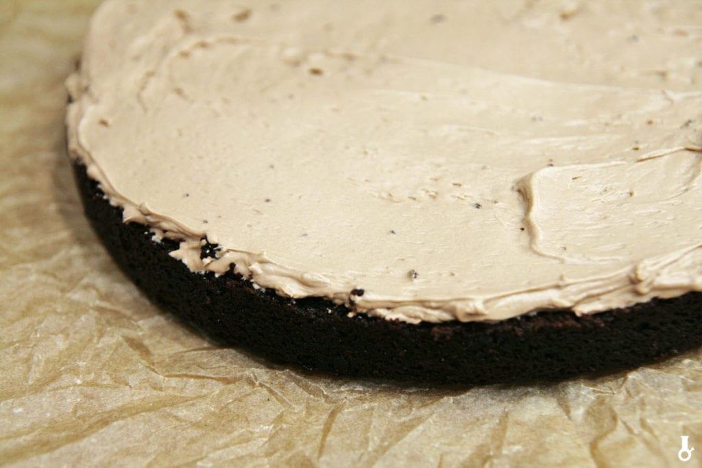 pierwsza warstwa tortu hagrida