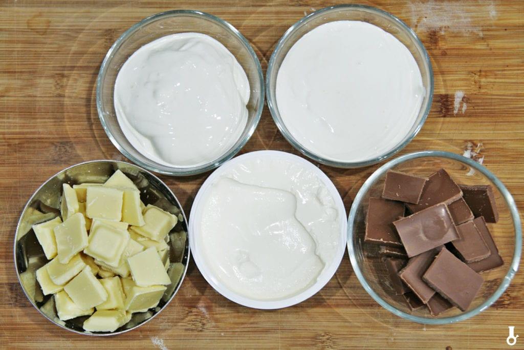 składniki na kremy do tortu