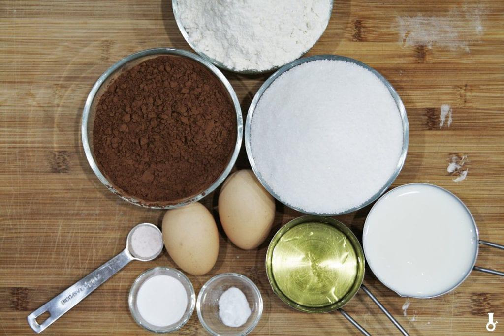 składniki na tort hagrida