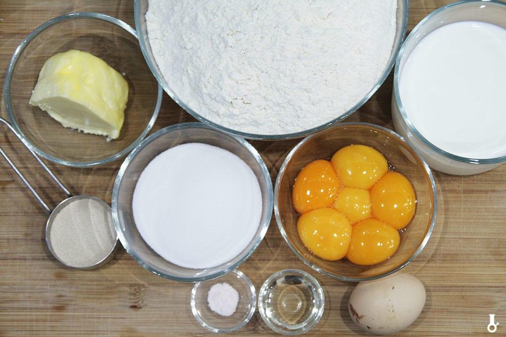 składniki na ciasto na pączki