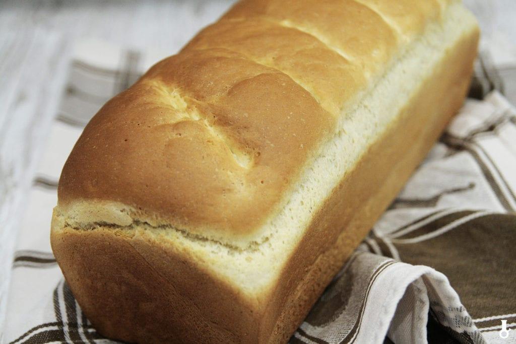 maślany chleb tostowy