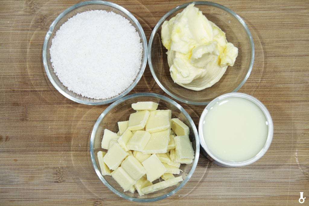 składniki na krem rafaello