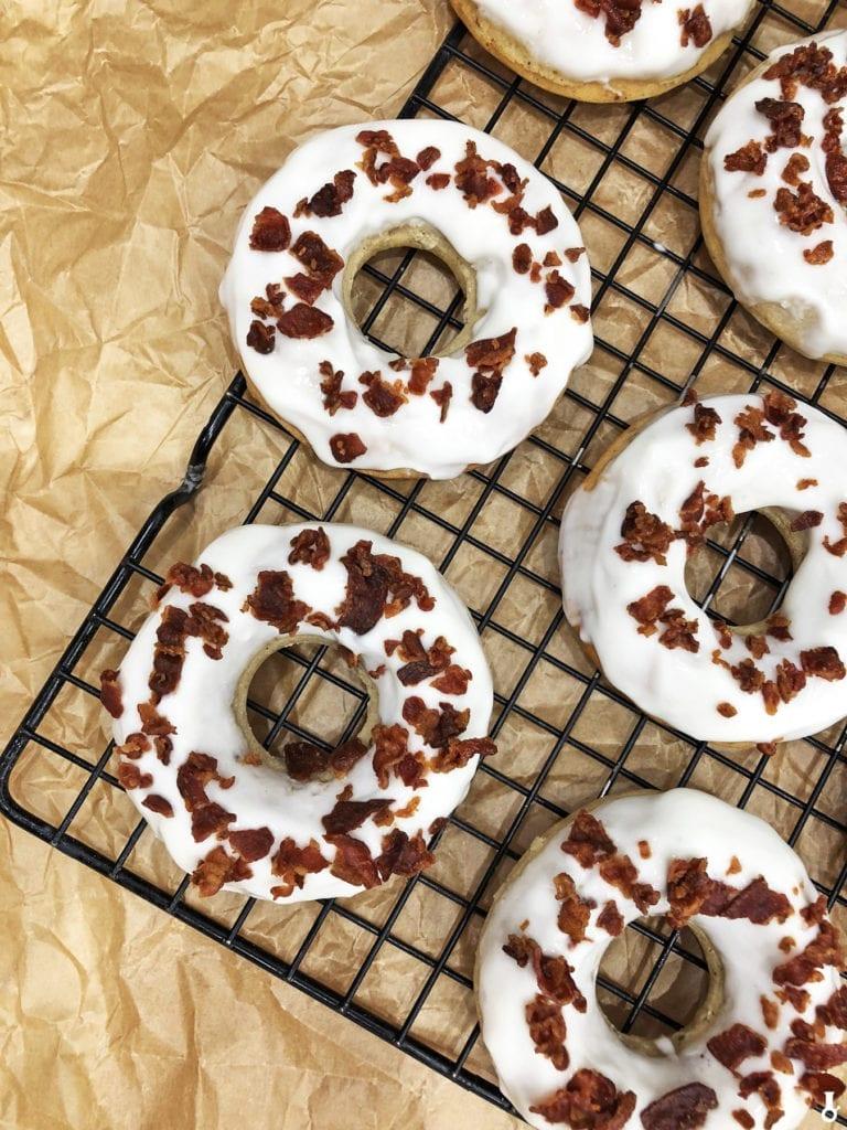 donuty z bekonem