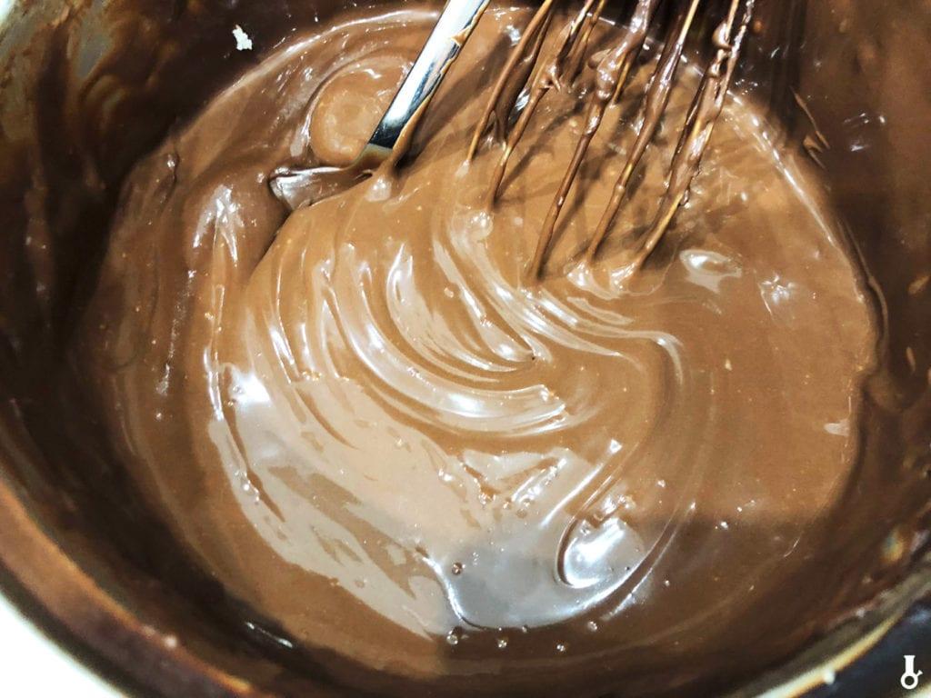schłodzona czekolada