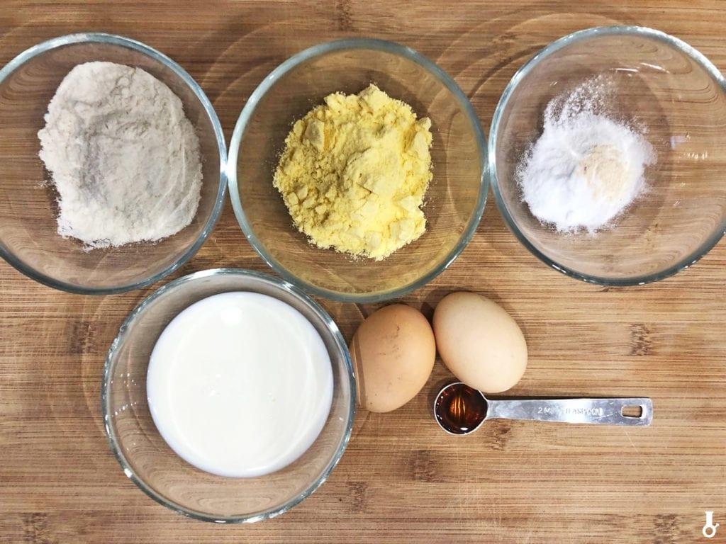 składniki na ciasto do kurczaka