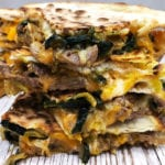 quesadilla philly cheese steak