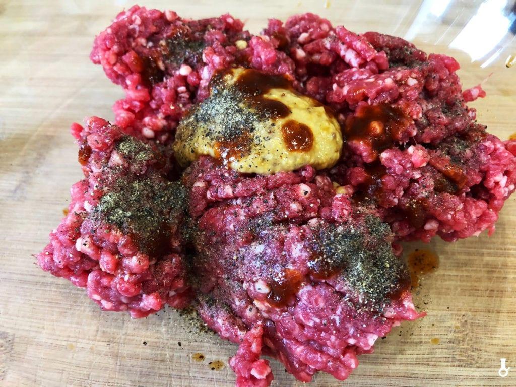 mięso przed doprawieniem