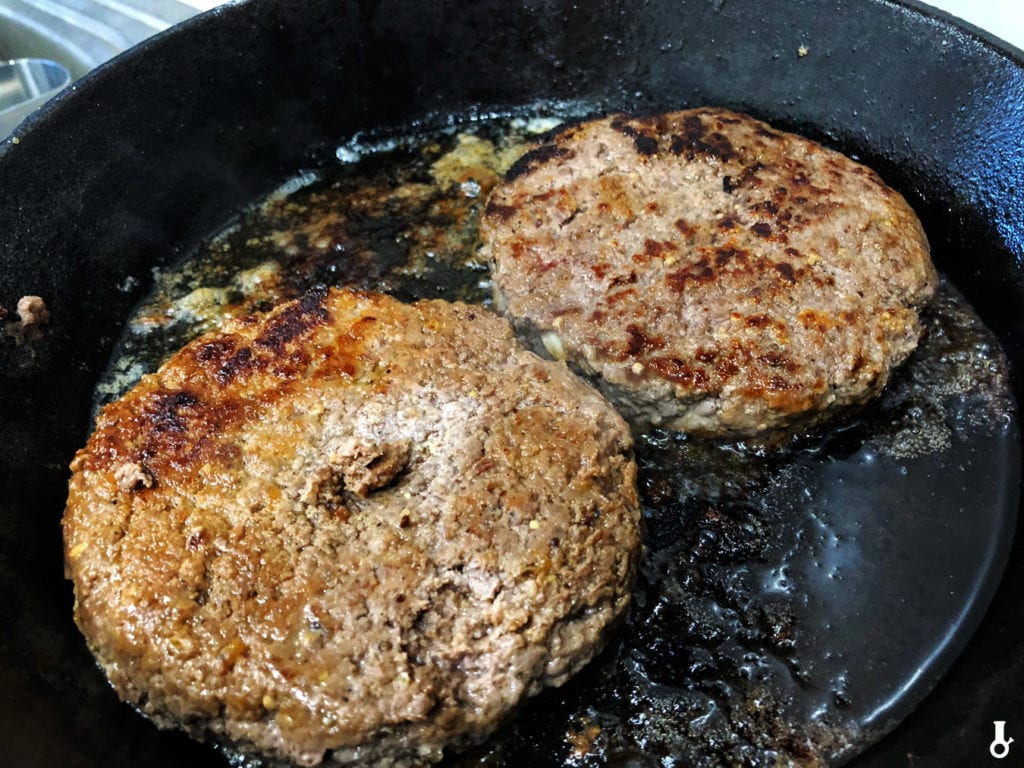 smażone burgery