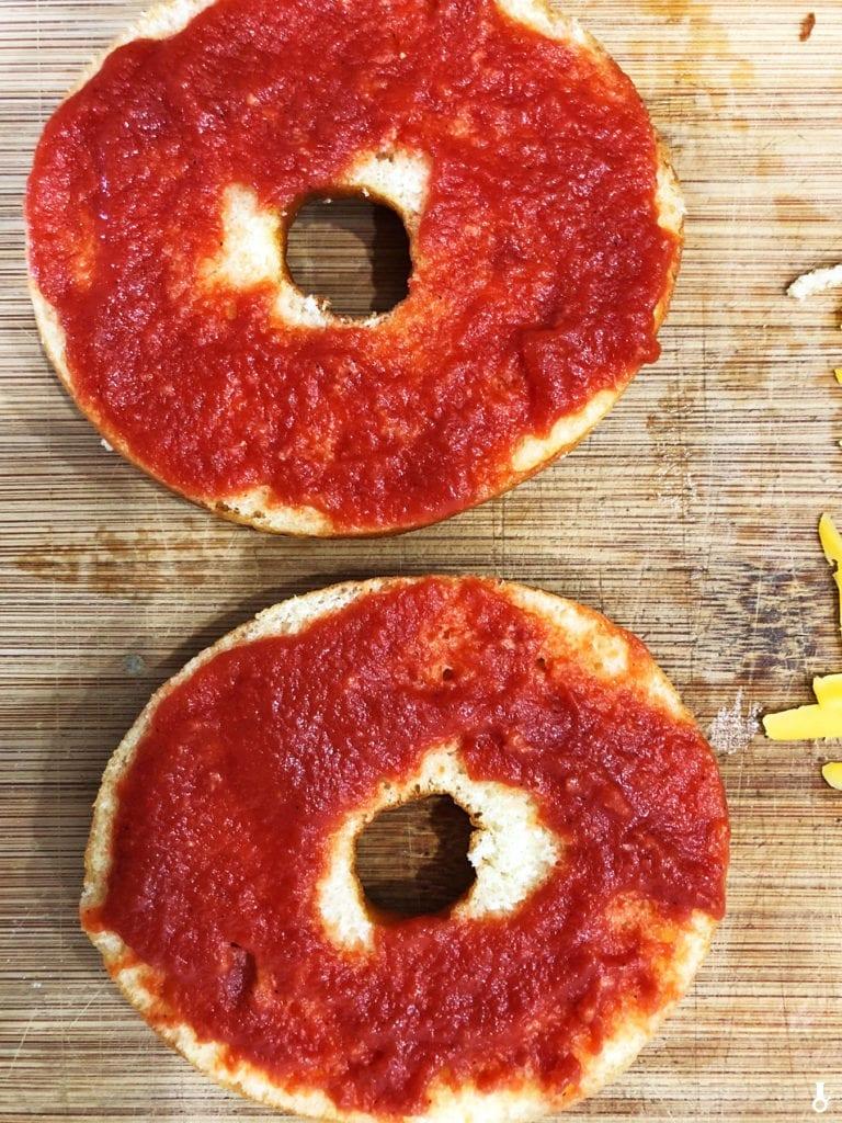 pizza donuty - sos pomidorowy