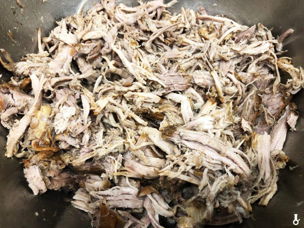 szarpana wieprzowina