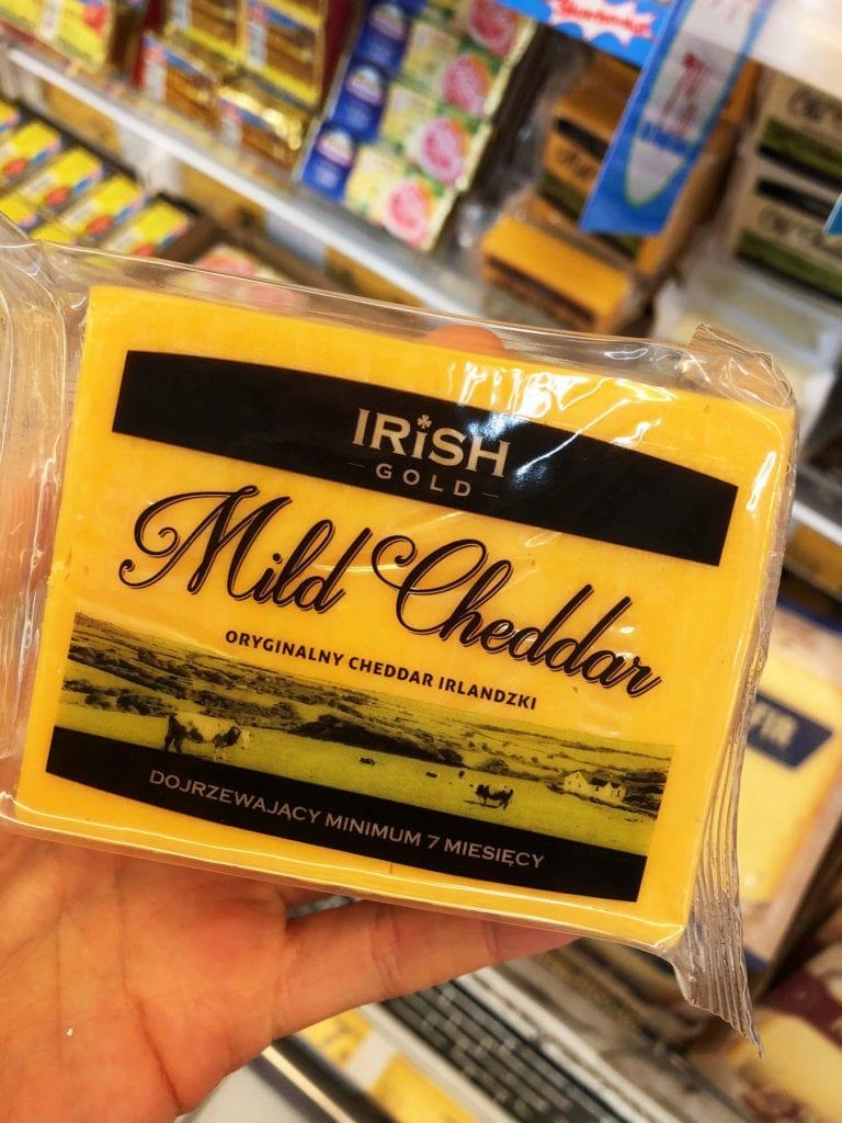 mild cheddar