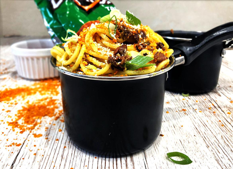 spaghetti doritonara