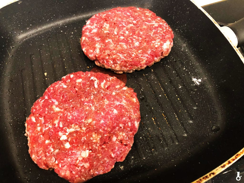 burgery na patelni