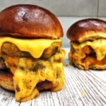 serowe burgery