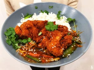 kurczak po tajlandzku